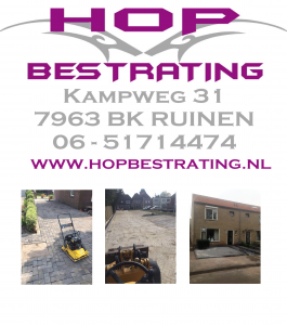 Hop bestrating